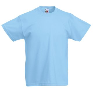 Fruit of the Loom T-Shirt Herren New Sky Größe L