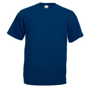 Fruit of the Loom T-Shirt Herren Navy blau Größe M
