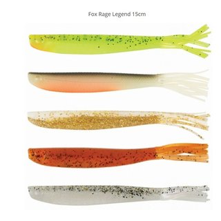 Fox Rage Legend 15cm x 4 - Lemon Tiger