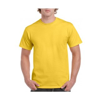 Gildan Herren T-Shirt Daisy (Gelb) Größe M