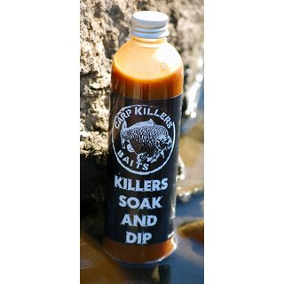 Killer Baits Banana Fish Soak & Dip 250ml