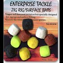 Enterprise Tackle Zig Rig Surface Baits Mixed Colours